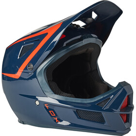 Fox Rampage Comp Repeat Helmet Men, dark indigo
